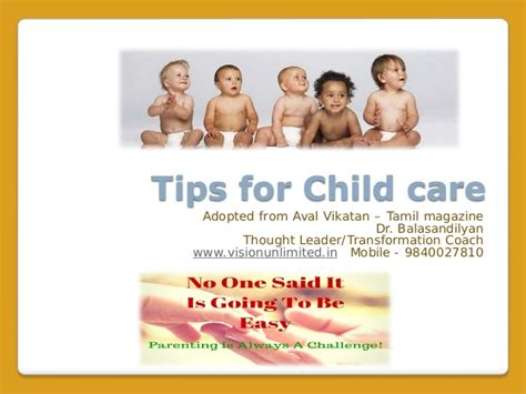 tips for child care