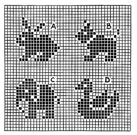Free Crochet Or Knit With Charts Or Graphs Patterns
