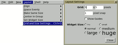 layout grid setting fltk 1 3 4 programming with fluid