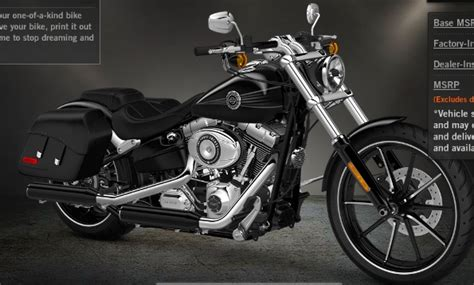 Softail Break Out 2013 S 88 Milwaukee V Twin Harley