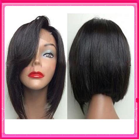Best Hair Style Wigs by 2016 New Bob Wigs For Black Lace Front Wig Bob