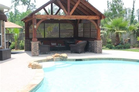 pool gazebo gazebo by the pool traditional pool houston by