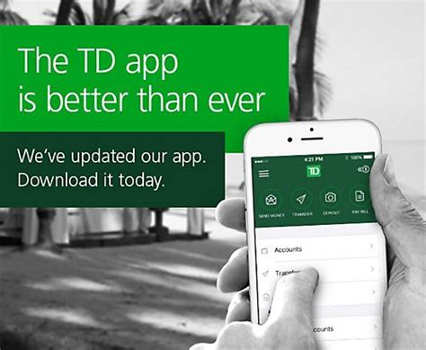 td easyweb mobile td canada trust mobile banking