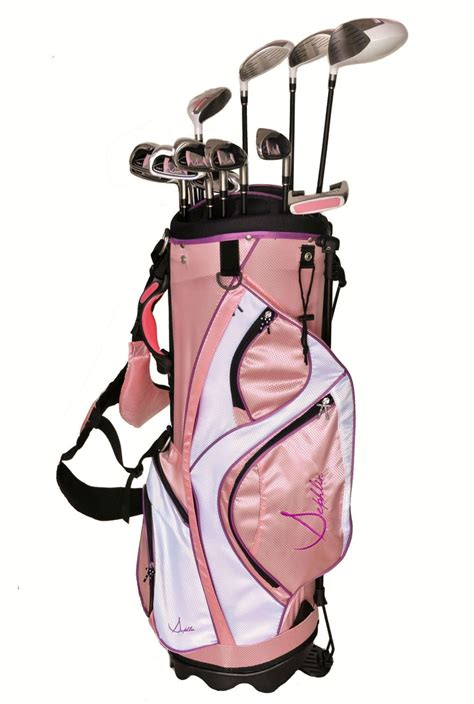 Bag In Bag Set 2 Pcs Pink sephlin elite womens 13 pcs golf club set and golf bag rh