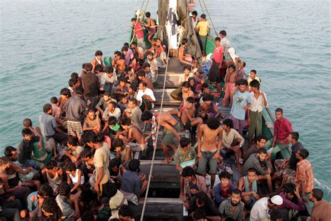 refugee boat crisis the world today pm rebuffs criticism over response to