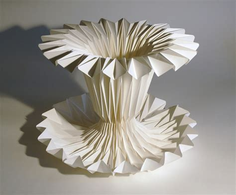 Paper Folding Sculpture - way wac wa richard sweeney s paper folding sculptures