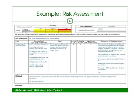 building security risk assessment template teagacs brc issue 6 event how to get started