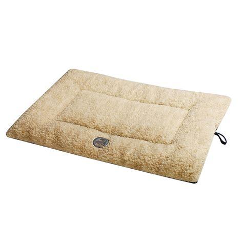 ollydog berber fleece microsuede dog bed 30x20x2