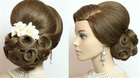 Wedding Hairstyles Tutorial For Hair by Bridal Updo Hairstyles For Hair Tutorial Makeup