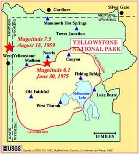 maps us map yellowstone