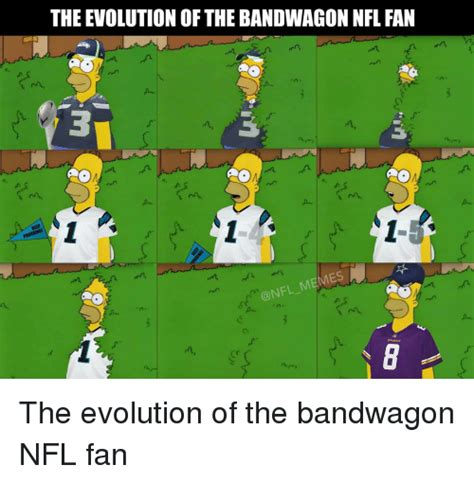 Nfl Bandwagon Memes - funny football memes of 2016 on sizzle nfl