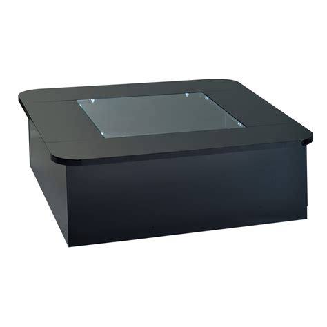 coffee table with lights floyd black coffee table with storage led lights fads