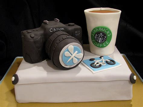 Happy Call Special Work Pan photographer s birthday cake i looking at