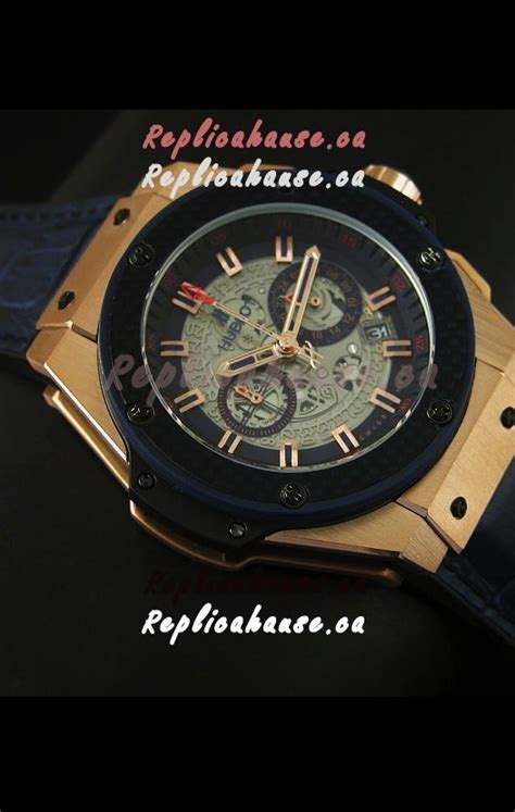 Rolex Skeleton King Rantai Kombi Gold aaa quality hublot big king gold skeleton swiss quartz 45mm