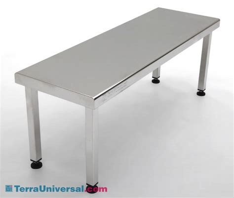 cleanroom bench gowning bench ultraclean ss free standing solid top 36