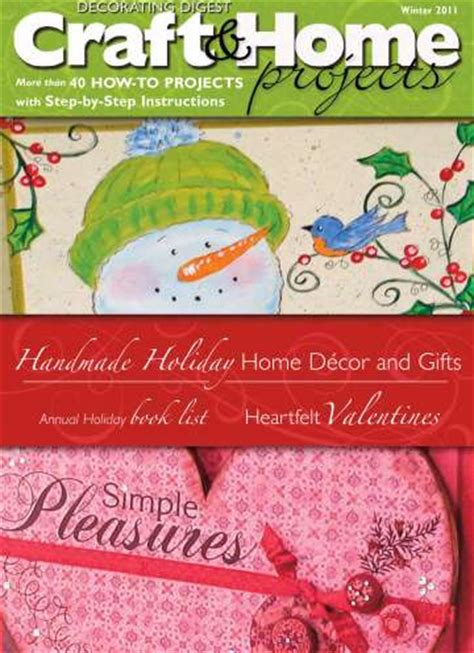 decorating digest craft home projects decorating digest craft home projects magazine 9 99