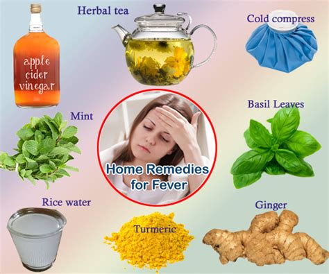 home remedies for fever ways to bring fever