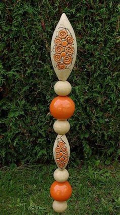 stehle treibholz gartenstele aus frostsicherer keramik http www