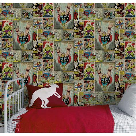 marvel wallpaper for bedroom papier peint papier marvel bd multicouleur leroy merlin
