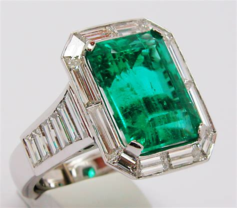 vintage emerald ring rachael edwards
