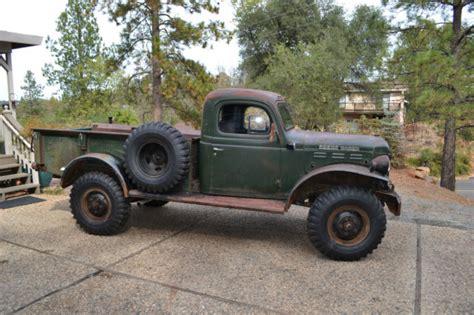 1948 dodge power wagon 1948 dodge power wagon civillian original unrestored