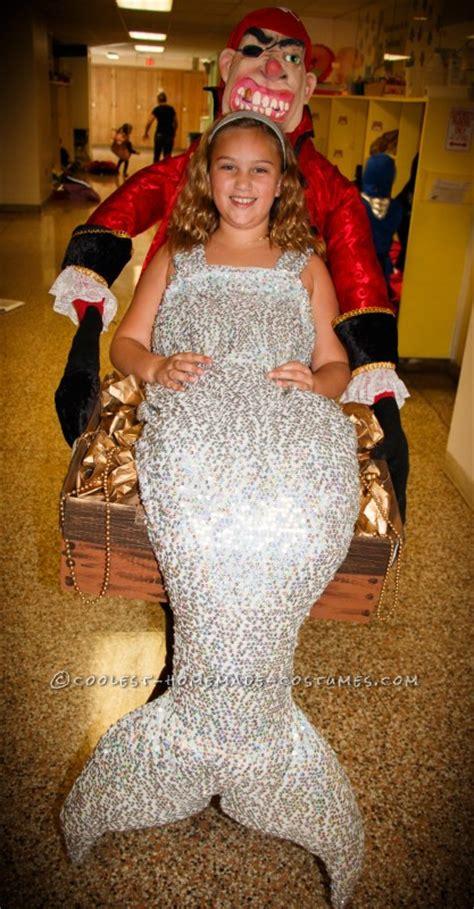 homemade optical illusion mermaid treasure costume