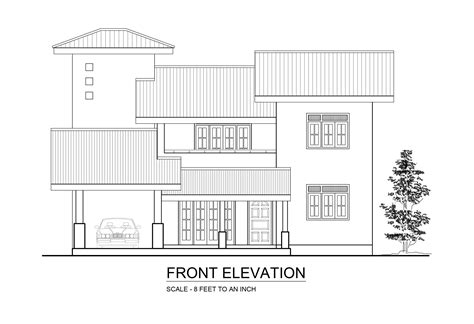 house elevation dimensions premium quality four bedroom double story house plan