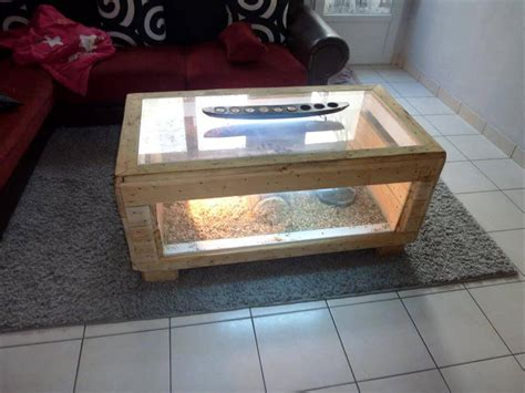 coffee table reptile terrarium amazing pallet furniture projects for home 101 pallets