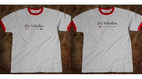 Valentines Day Shirts For Couples 10 Cheeky S Day Tees For Couples