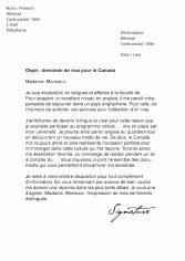 Lettre Demande De Visa De Travail Mod 232 Les De Lettres De Demande Pour L Administration Et Le Service