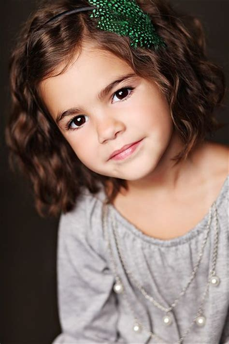 10 year old girl with brown hair oh wow this is my child in the future she is going to