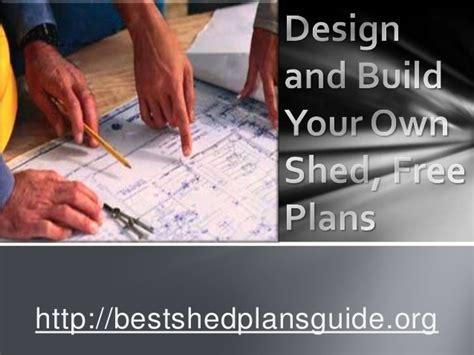 design  build   shed  plans