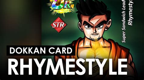 Custom Dokkan Card Templates by Rhymestyle Dokkan Battle Custom Card Feat