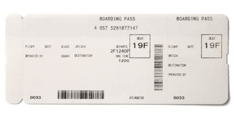 making fake boarding passes  gifts le chic geek