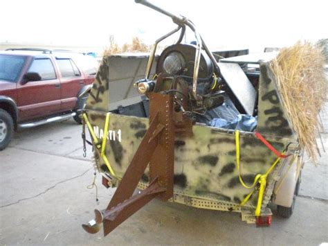 airboat with outboard motor vw based sw mud motor for flat bottom boat or trade
