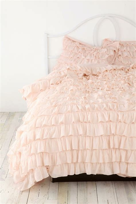 pink ruffle bedding pink ruffle bed for the home pinterest