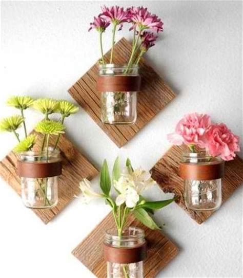 unique diy home decor ideas easy creative decor ideas mason jar wall decor click