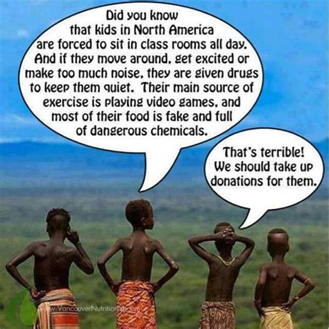 Poor African Kid Meme - modern parenting it s naturally fallacious grounded