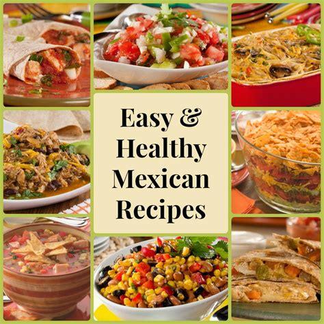 13 easy healthy mexican recipes
