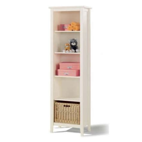 white narrow bookcase welle mobel cello white narrow bookcase furniture123