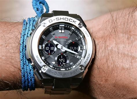 Jam Tangan Pria Casio G Shock Gst 210d 1adr Layer Guard Structure casio g shock g steel gst s110d 1a indowatch co id