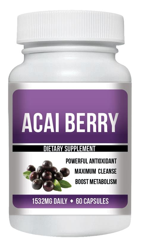 Do Acai Berry Detox Pills Work by Does Acai Berry Capsules Really Work For Weight Loss