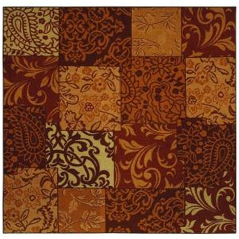 mohawk area rugs discontinued mohawk afton copper 8 ft square area rug discontinued