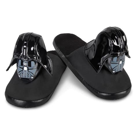darth vader slippers the darth vader slippers hammacher schlemmer