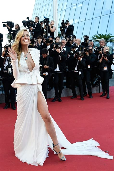 Palma Slit Top Black cannes 2015 slit skirts capes and crop tops among the