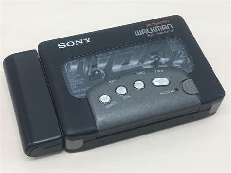 walkman cassette player sony wm rx707 walkman cassette player ebay