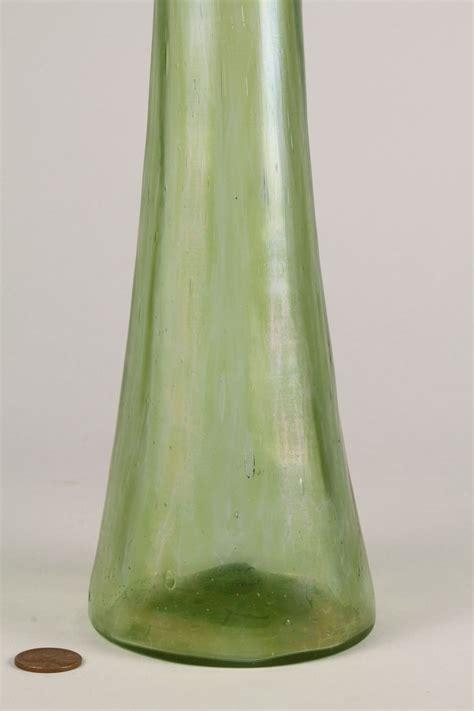lot 327 3 glass items vase bowl l shade