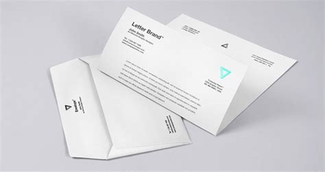 envelope design template psd envelope letter branding mockup psd template