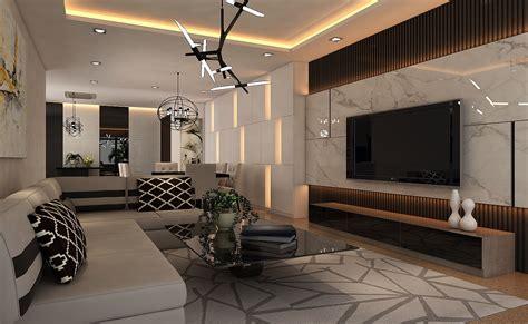 living dining hall interior design ver  cgtrader
