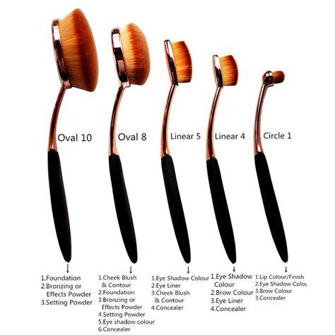 buyincoins golden 5pcs elite oval toothbrush makeup